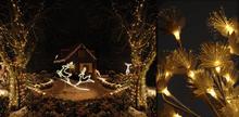 Verlichte kerstfiguren