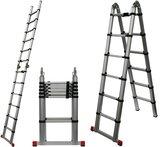 Telescopische ladder 3.85m_