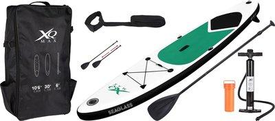SUP-board 320cm groen - met accessoires
