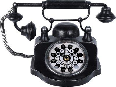 Retro klok telefoon