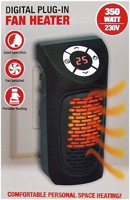 Plug-in heater - digitaal