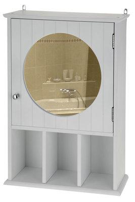 Badkamerkast wit