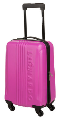 Leonardo Handbagage koffer fuchsia