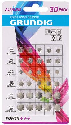 Grundig  Assortiment 30 knoopcelbatterijen
