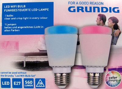 Grundig Lamp met WIFI & LED kleurschakeringen
