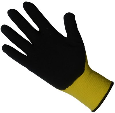 ToolPack Werkhandschoenen latexcoated 9/L