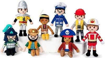 Complete set van 8 stuks Playmobil Knuffels 30cm