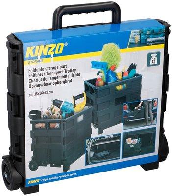 Kinzo Trolley met vouwkrat
