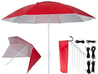 UV shelter 240cm rood