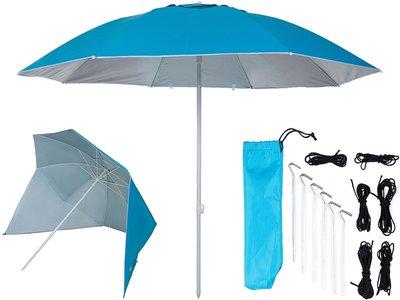 UV shelter 240cm licht blauw