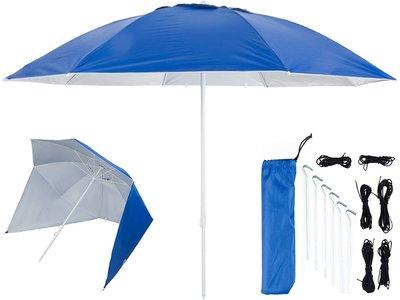 UV shelter 240cm donker blauw