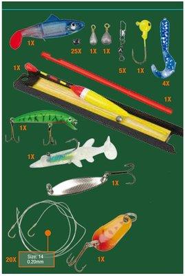 XQ Max Visbox voor zoetwatervissen 64delig