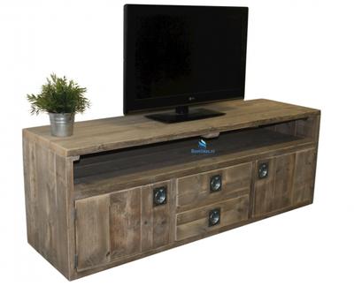 Steigerhouten tv-meubel Classic