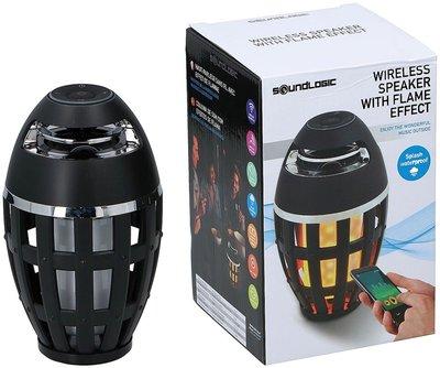 Draadloze Outdoor Speaker met vlameffect