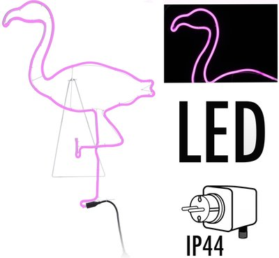 LED-verlichting Flamingo - 90cm