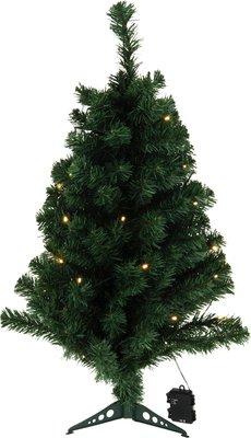 Kunstkerstboom 90cm met 35 LED lampjes