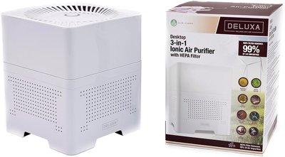 Ionische luchtreiniger met HEPA filter