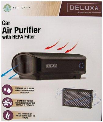 Auto luchtreiniger met HEPA-filter