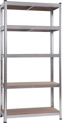 Metalen opbergrek - 180x90x40cm