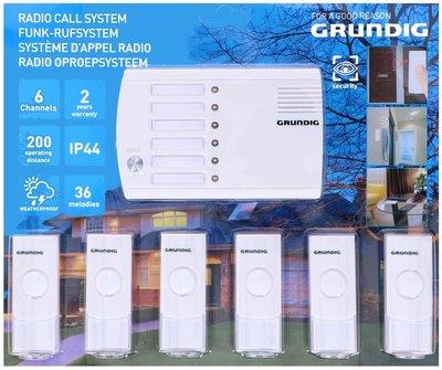 Grundig Radio Oproepsysteem/ deurbel - 6 kanalen