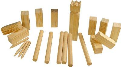 Kubb spelset - groot -hout