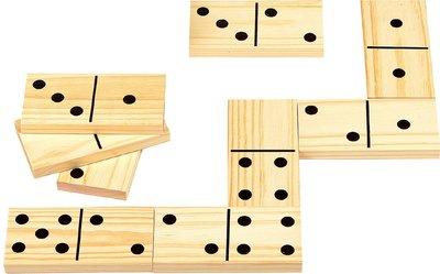 Reuzen domino - hout