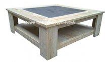 Steigerhouten salontafel  Tegel
